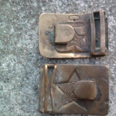 Soviet belt buckles: ww2 or post?