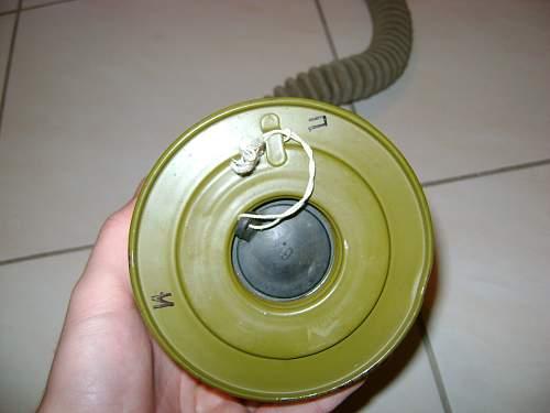 Soviet or East German gas mask
