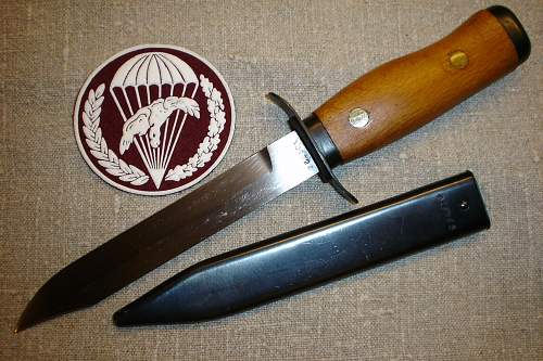 "Soviet fighting-knife of WWII ""NR 40"""