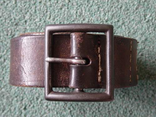 Click image for larger version.  Name:Canadian made lend lease Soviet enlisted mans belt and buckle. 002.jpg Views:427 Size:146.8 KB ID:4409