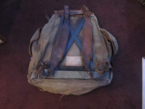 Soviet WWII Backpack?