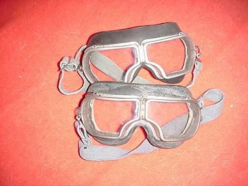 RKKA WW2 Period Flight Goggles?