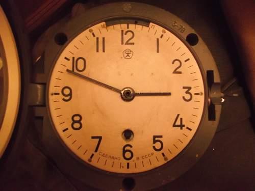Tank and vehicle clocks