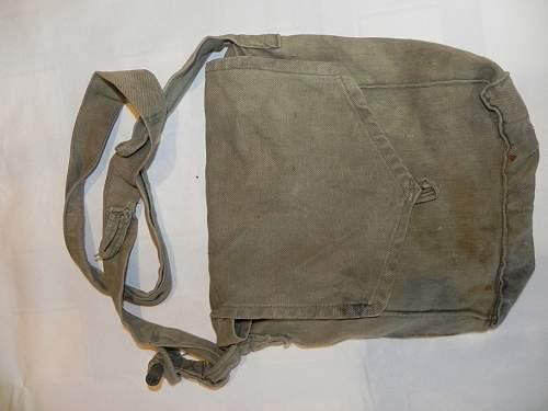 My New Gaskmask bag
