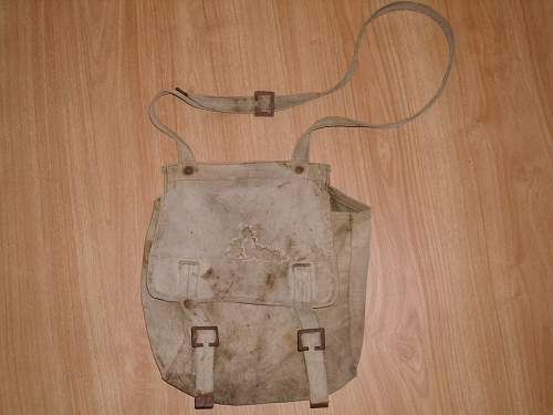 ww2 Soviet bread bag?