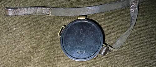Compass with original strap.