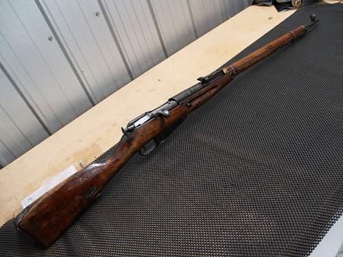 Original Soviet Mosin-Nagant 91/30