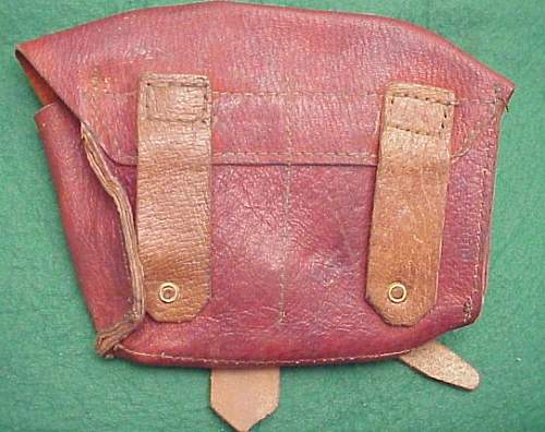 Show purchases, WWII SVT pouches, Holsters and belt
