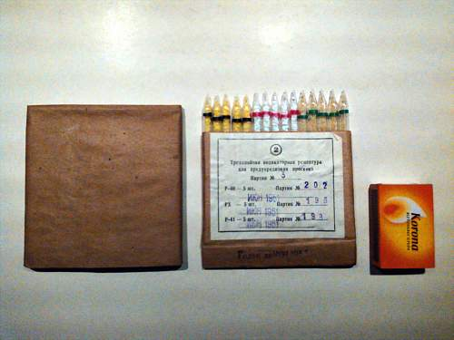 Soviet poison gas indicator set from the sixties?
