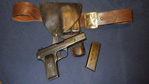 USSR holster for Tokarev ??