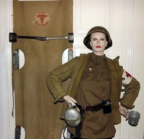 RED ARMY - medical instructor