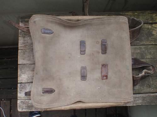 original  ww2 russian backpack?