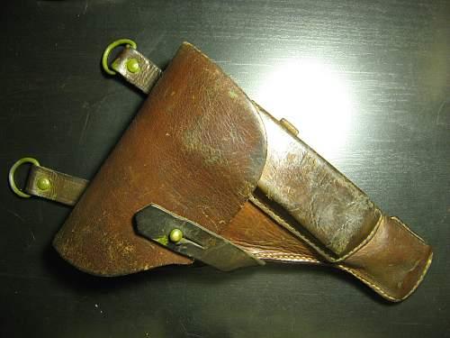 Wartime TT33 pistol holster