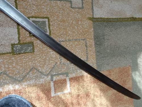 Soviet Shaska sword