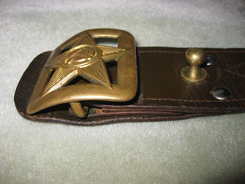 WW2 Period Russian Officers Belt