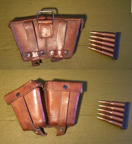 Russian Mosin-Nagant ammo pouch? WW2 or Postwar ?