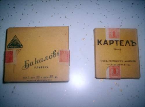WW2 Russian? cigarettes