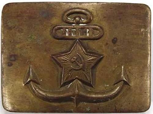 Soviet Navy buckle?