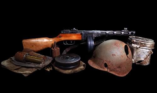 Soviet Equipment Display