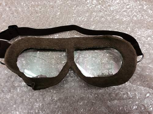 Thoughts on these Soviet flight goggles?