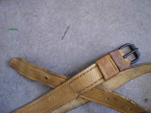 PKKA leather belt.
