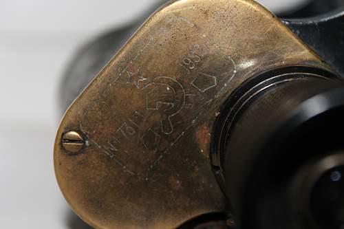 Soviet binoculars 1940