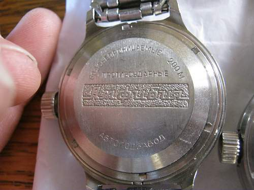 two late USSR watches, what are they and are they worth anything