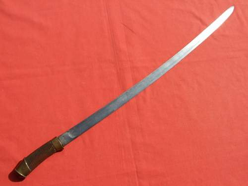 Russian Shaska style Cossack sword?