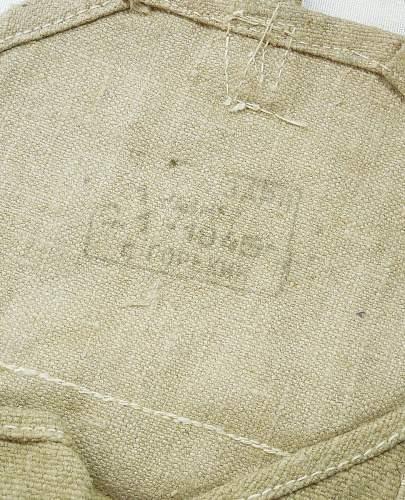 soviet F1 grenade pouches (original stamping?)