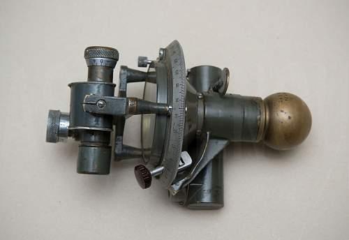 Soviet WWII artillery compass