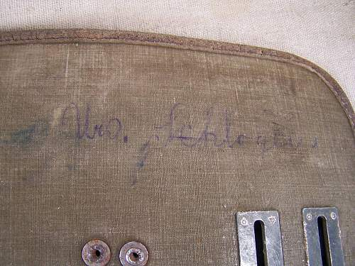 German Trophee: Soviet mapcase belonged to Soviet tankman