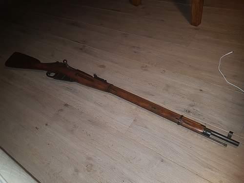 My first ever gun!..