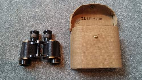 Click image for larger version.  Name:04 Canadian-made South African PAttern 1937 Binocular Case and British-made South African Binocu.jpg Views:34 Size:367.3 KB ID:1006710