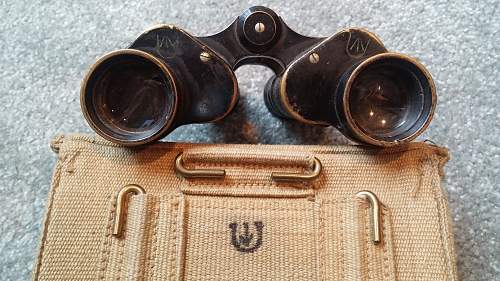 Click image for larger version.  Name:07 Canadian-made South African PAttern 1937 Binocular Case and British-made South African Binocu.jpg Views:80 Size:361.3 KB ID:1006715