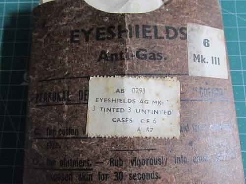 MK3 Anti Gas Eyeshields