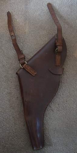 Webley holster alterations