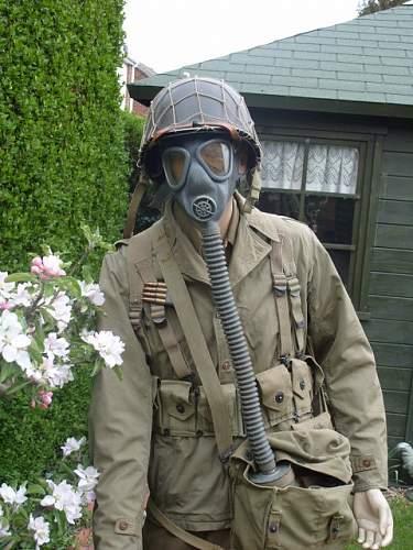 Us gas mask m3