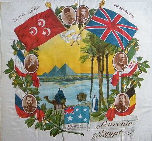 WW1 The British West Indies Regiment Christmas 1917-1918 cigarette case