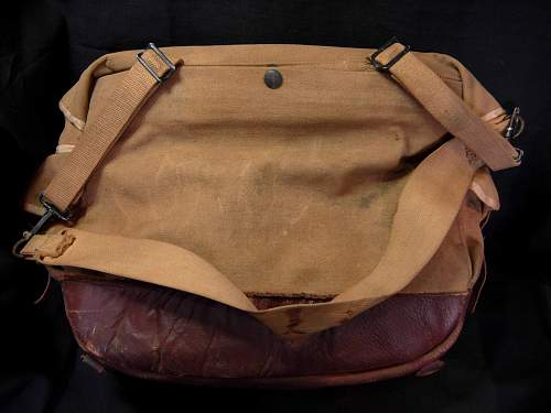 WWII Abercrombie & Fitch American Red Cross Bag Question of Value