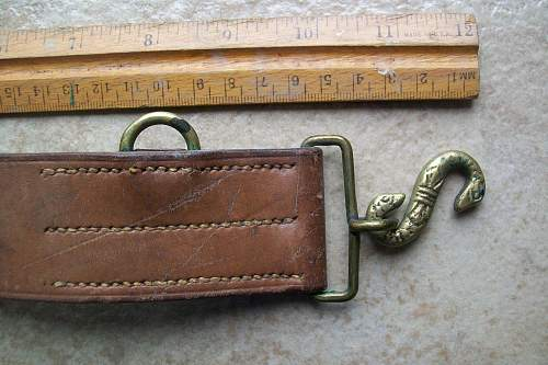 is this a WW1 snake belt