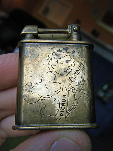 Provost Company Trench Art Lighter