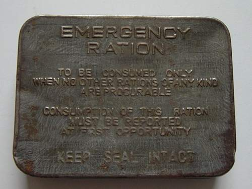Click image for larger version.  Name:Naval Emergency ration tin.jpg Views:625 Size:150.5 KB ID:108902