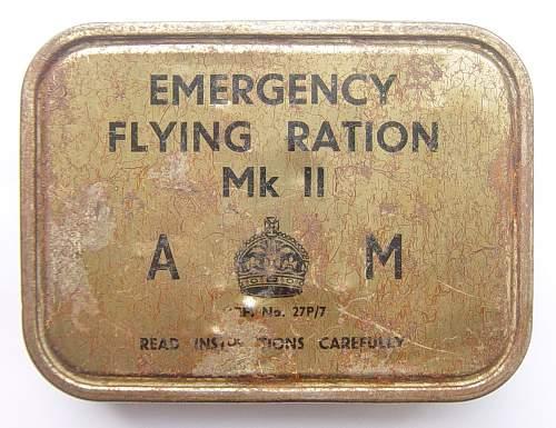 Click image for larger version.  Name:RAF Emergency Flying Ration tins 001.jpg Views:1101 Size:244.7 KB ID:108924