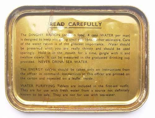 Click image for larger version.  Name:RAF Emergency Flying Ration tins 003.jpg Views:1196 Size:220.9 KB ID:108926