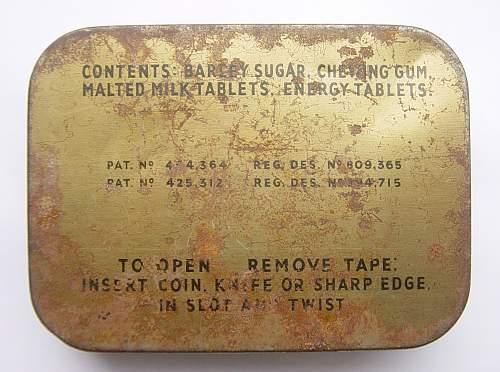 Click image for larger version.  Name:RAF Emergency Flying Ration tins 005.jpg Views:279 Size:227.4 KB ID:108929