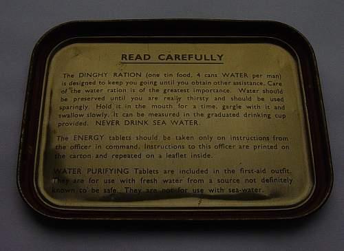 Click image for larger version.  Name:RAF Emergency Flying Ration tins 006.jpg Views:280 Size:155.1 KB ID:108930