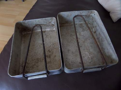 1939 British Army mess tins Finnish Army used