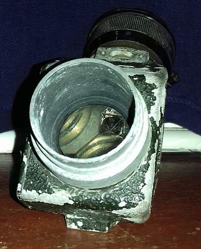 1938 British Rangefinder Sight Made By C. P. Goerz?
