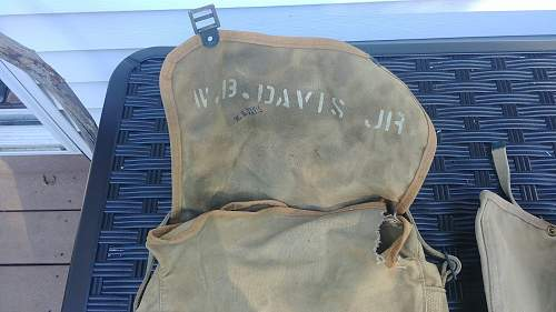 USMC haversack