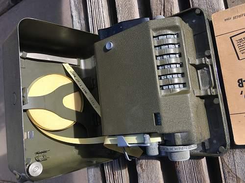 Signal Corps Converter M-209-B
